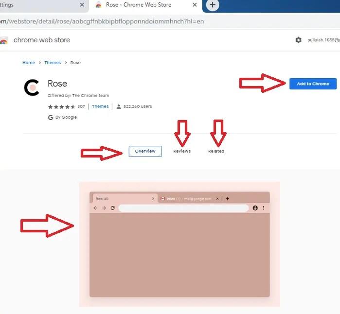 How to change Chrome Theme