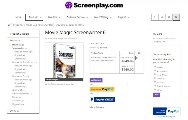 Movie Magic Screenwriter: Best Screenwriting software