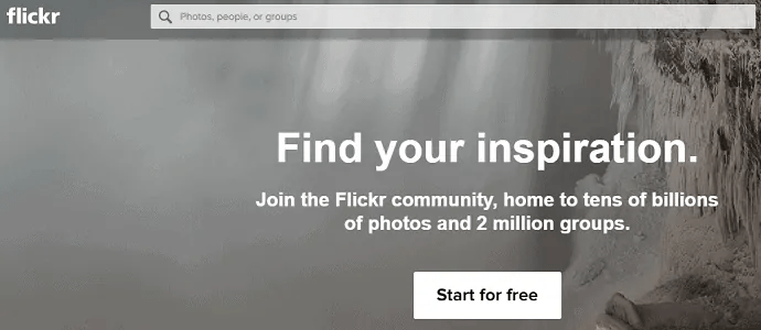 Flickr-A-Youtube-Competitor-HomePage