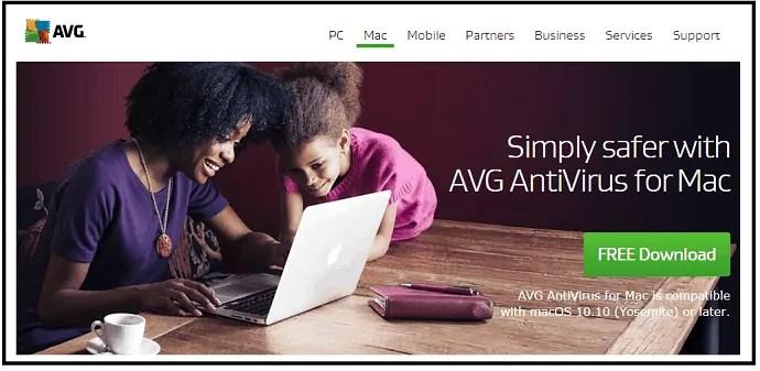 AVG-Antivirus-for-mac-webpage