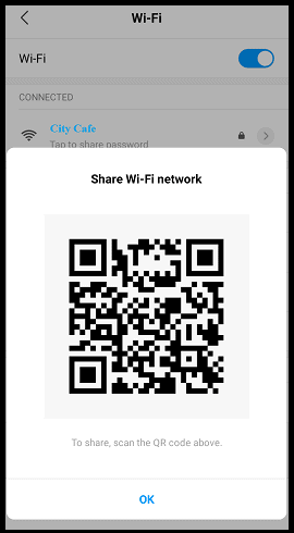 Share-Wi-Fi-Password-as-QR-Code-on-Android-Device