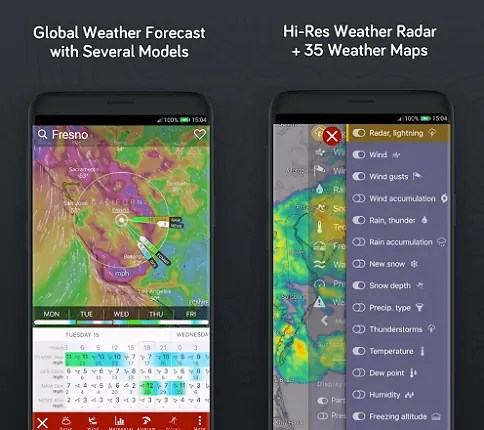 Windy.com -App-page-which-is-the-best-weather-app-for-Android