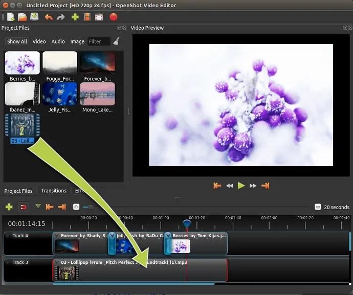 Add Music-using- OpenShot-Video-Editor