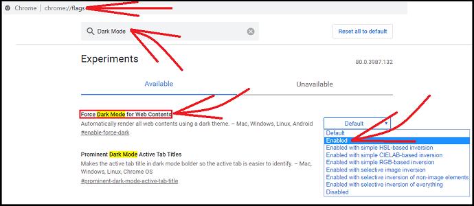 Chrome Dark Mode Flags-to-enable-dark-mode-on-chrome