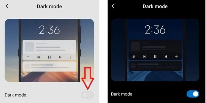 Enabling-instagram dark-mode-in-Android