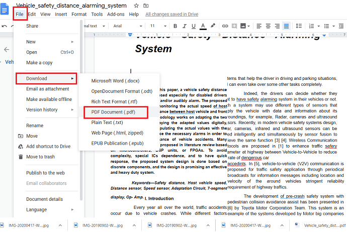 Save the edited PDF file.