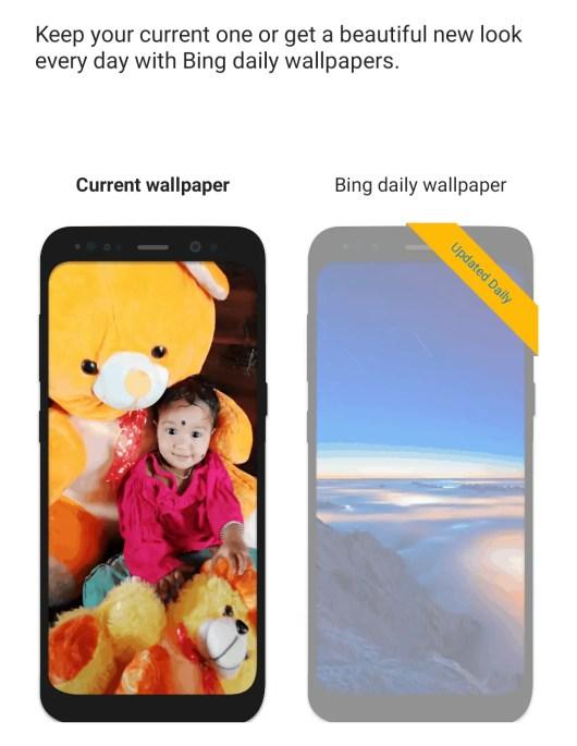 Setting wallpaper