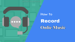 Record online music
