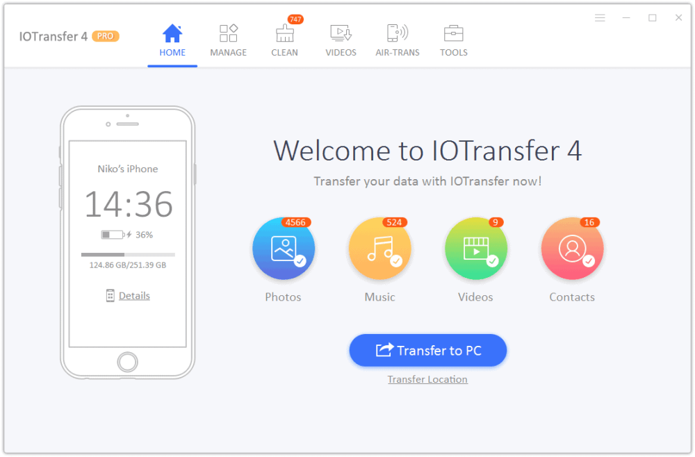 IOTransfer 4 review