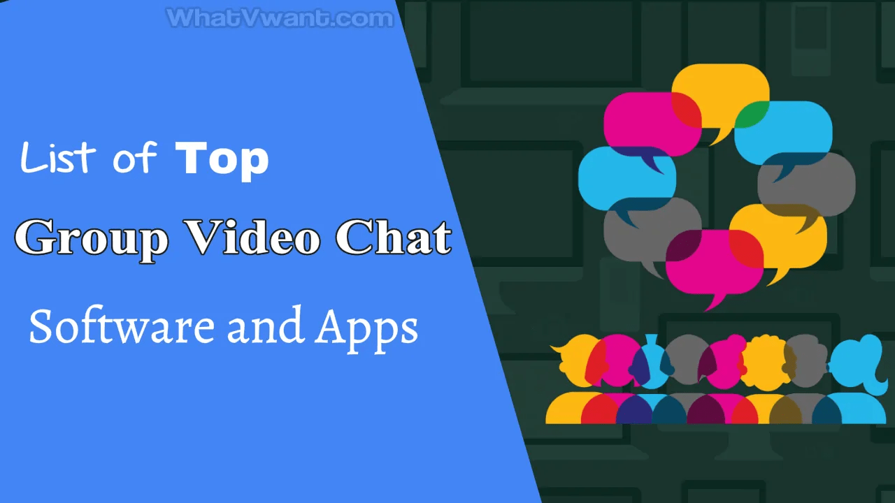Group video chat software