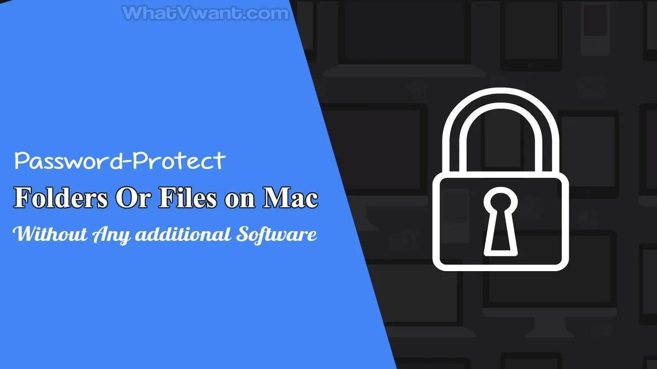 Encrypt files on Mac