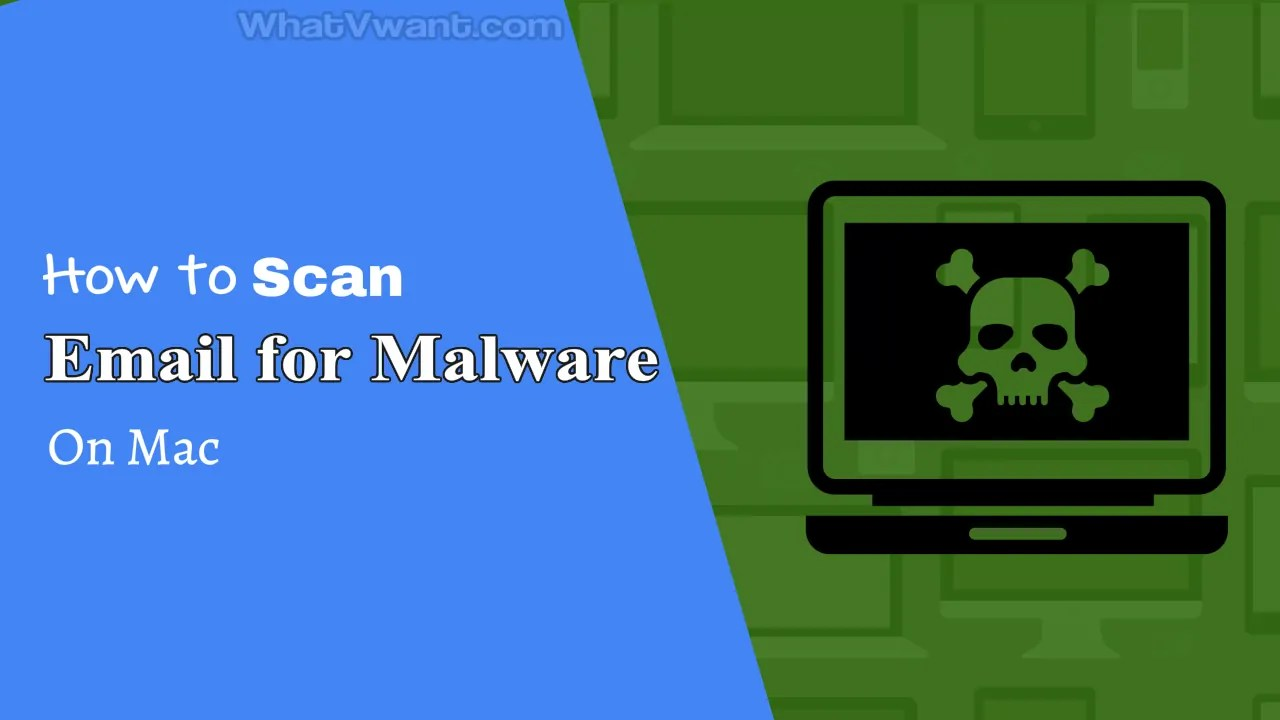 scan email for malware on mac