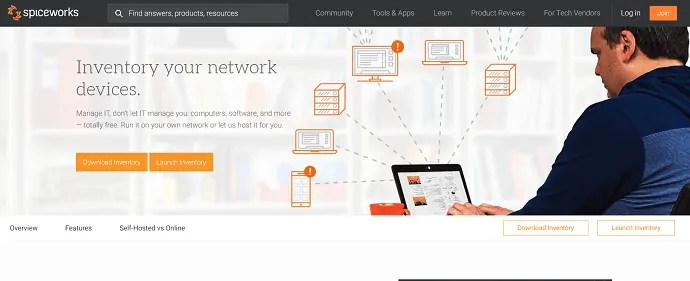 spaceworks network discovery tool