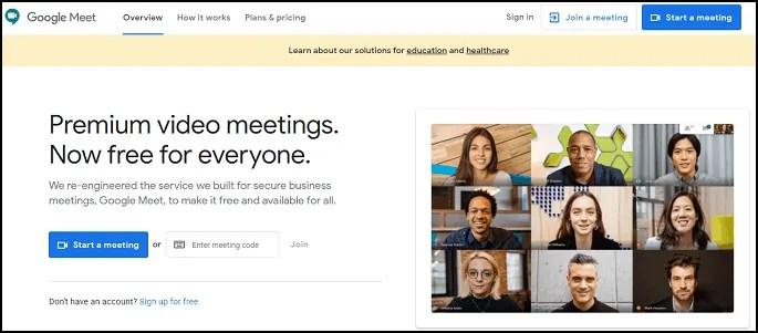 GoogleMeet-Official-Website-Page