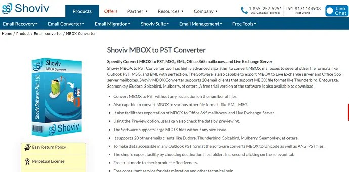 Top 10 simple MBOX to PST converter software 2
