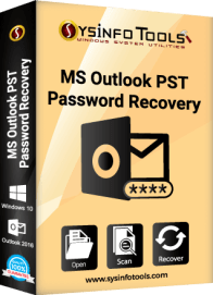 sysinfo MS Outlook pst password recovery tool