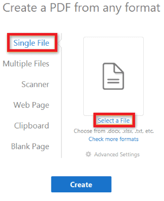 8 Free Ways to Convert to PDF from Word, Excel & Image 2