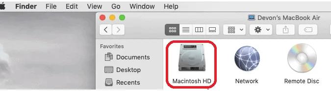 5 Methods to show hidden files on Mac 1