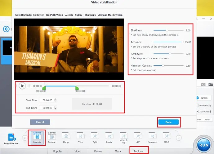 VideoProc Review - One stop video editing software 11