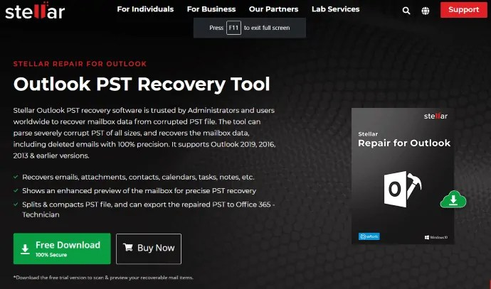 Top 12 PST repair tools for effective data recovery 1