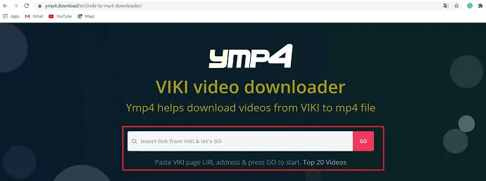 YMP4- Viki video downloader.