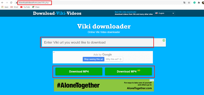 Best online Viki video downloader.