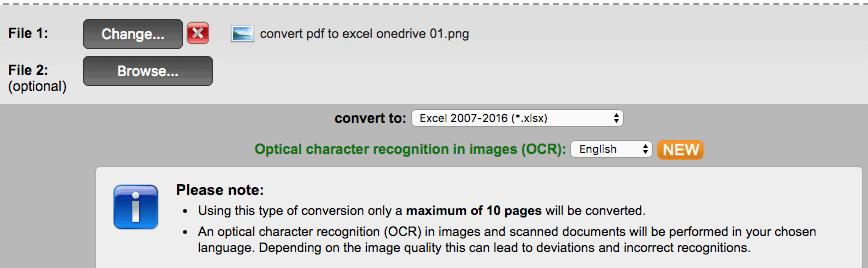 7 way to Convert Image to Excel (Online & Offline) 2