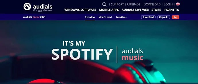 Audials- best spotify music recorder.