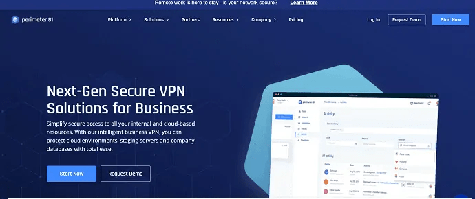 perimeter VPN- secure VPN solution for business.