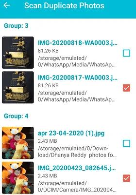 select duplicates