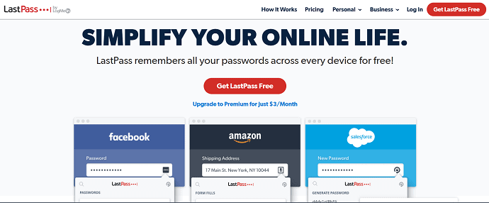 Lastpass- Simply you online life.