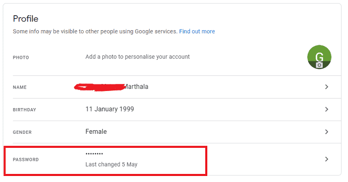 Simple Guide to Change Gmail password 1
