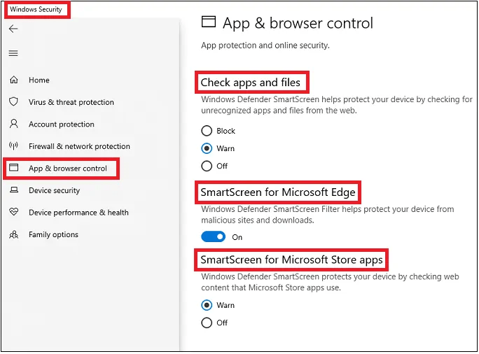 Microsoft-Defender-SmartScreen-to-block-malicious-webistes-and-downloads
