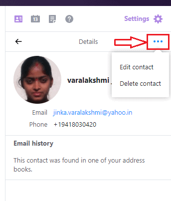 How to add, view and edit Yahoo mail contacts 2