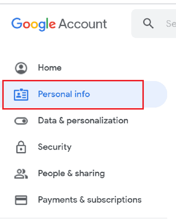 How to Change Gmail name or Name on Google Account 1