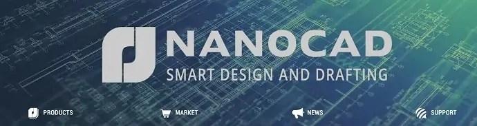 NanoCAD homepage