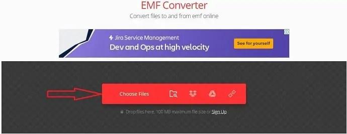 Edit Eps file to EMF