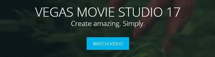 Sony Vegas Movie studio homepage