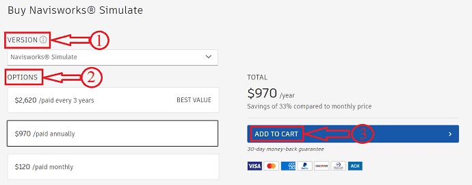 Navisworks simulate pricing
