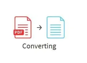 Conversion process icon