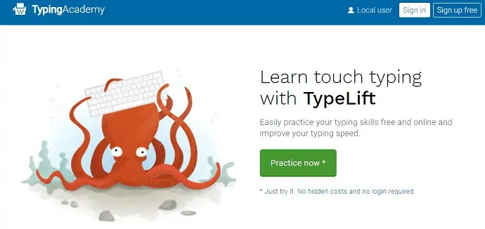 Typing Academy