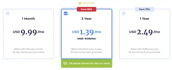AtlasVPN Pricing-1