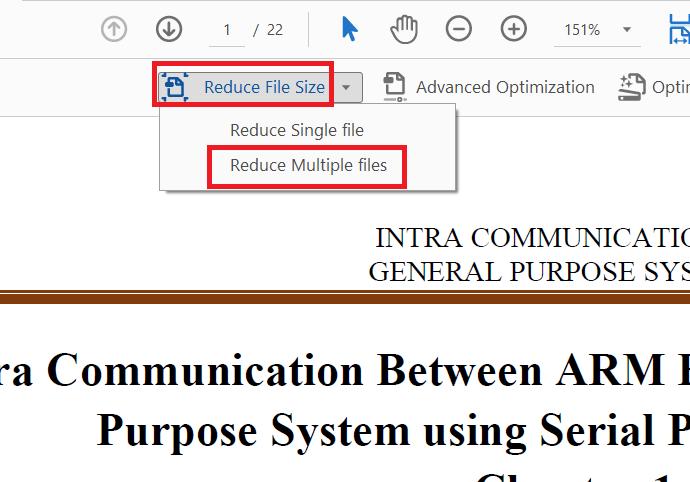 reduce file size