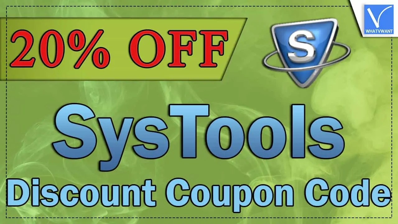 SysTools Discount Coupon Code