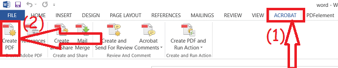 Create PDF with links