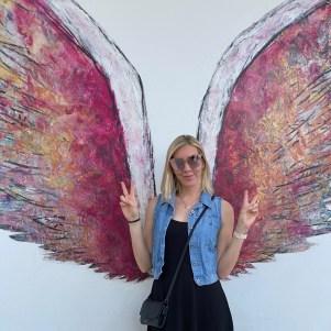 Sophia with wings