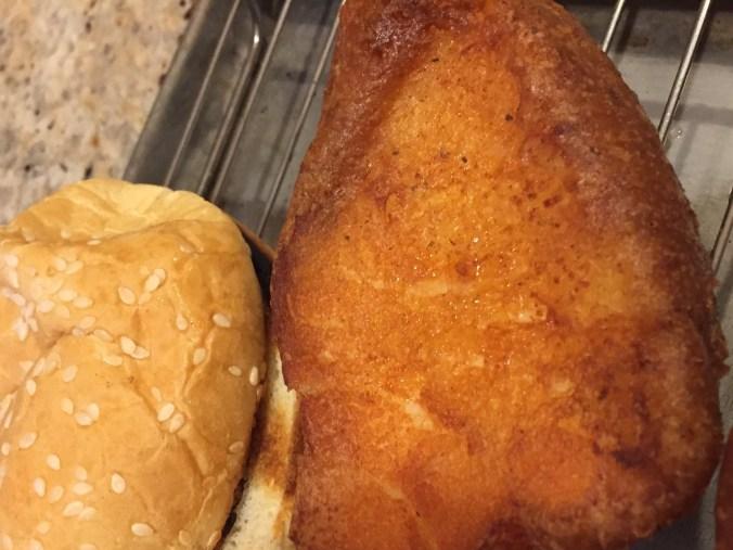 fish and bun