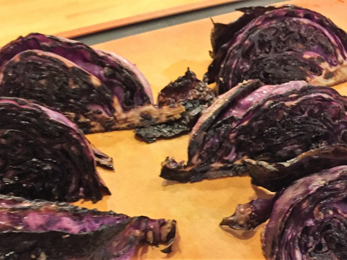cabbage charred