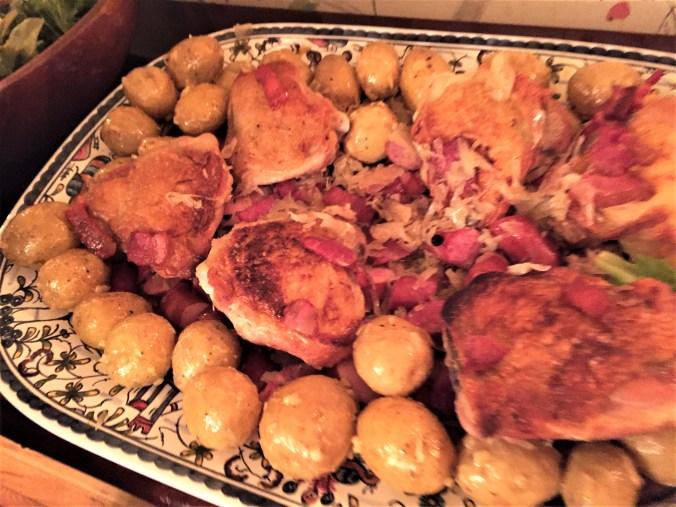 choucroute platter