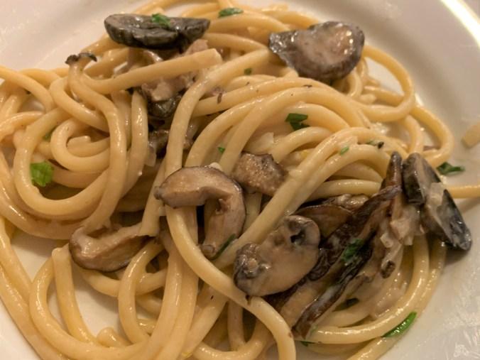 Pasta Mushroom